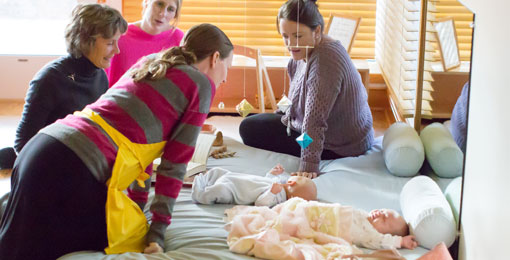 Parenting classes includes helping parents understand Montessori from the Start.