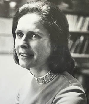 A photo Paula Lillard in the 1960s, when she spearheaded the Montessori public schools movement in Cincinnati