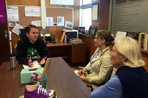 Forest Bluff School administrators meet with public Montessori schools