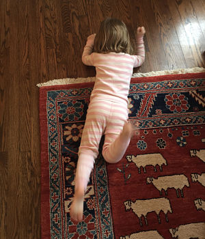 Child in the cycle of tantrums and timeouts