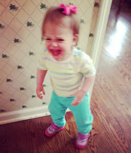Crying child may need to deal with timeouts and tantrums