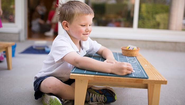 direct and indirect preparation for writing in montessori Direct purpose is to develop hand-eye coordination, and muscular control indirect preparation for writing preparation of the environ.