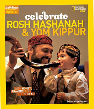 Cover image of National Geographic Rosh Hashanah and Yom Kippur book