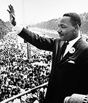 Martin Luther King, Jr. shares his vision for peace