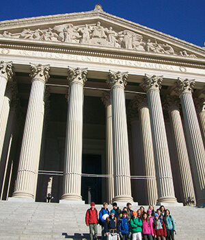 Montessori Secondary Level students visit Washington, D.C. as part of their study of U.S. history