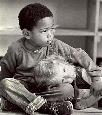 """Age of Innocence"" by Marco Marcinelli. Taken at an inner-city Detroit Montessori school."